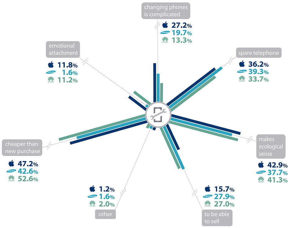 reasons for smartphone repair infographic