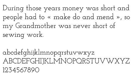june randall dressmaker corporate design typography