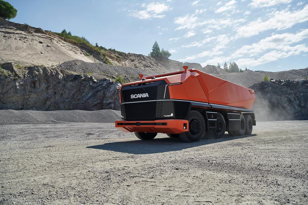 Scania AXL autonom ohne Fahrerhaus