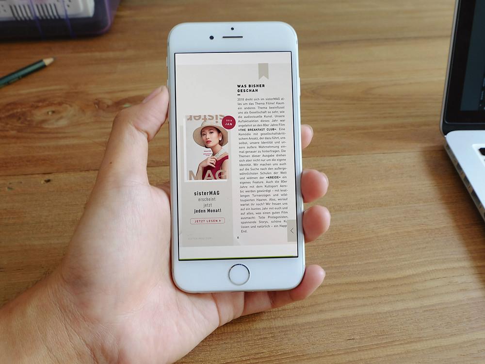 sister mag iphone magazine
