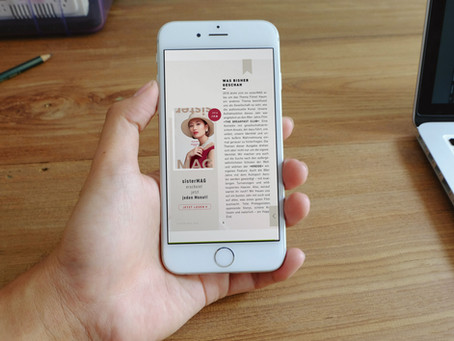 Sister-Mag: a Beautiful App Magazine
