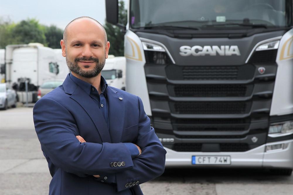 Oliver Bablakov Scania