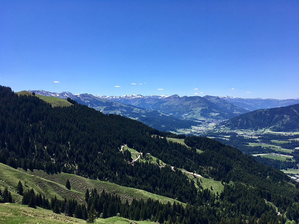 hiking in Tirol