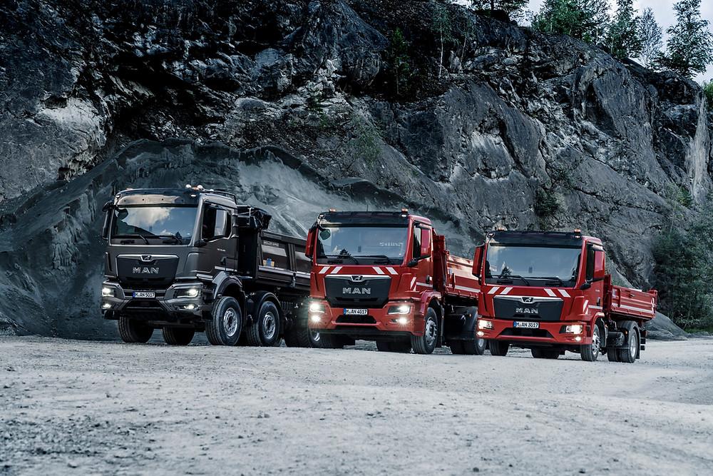 MAN Bau- und Allradfahrzeuge TGL TGM TGS TGX
