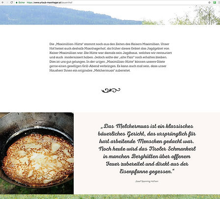 responsives webdesign schnörkel