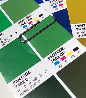 Pantone plant green