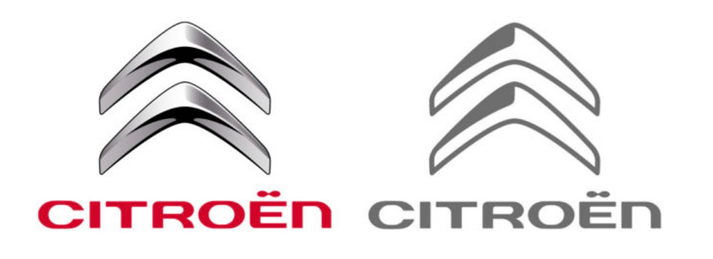 Citroen logo design