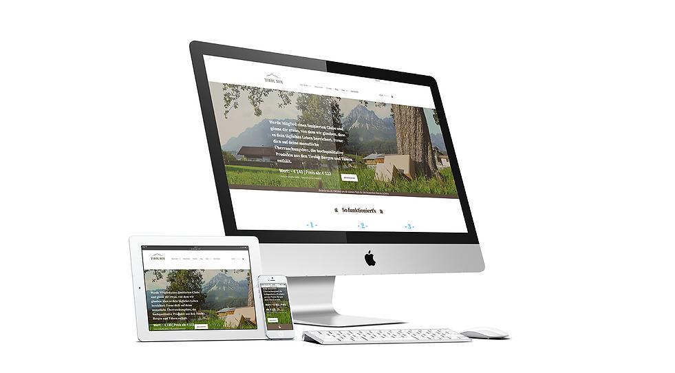 tirol box website responsive webdesign