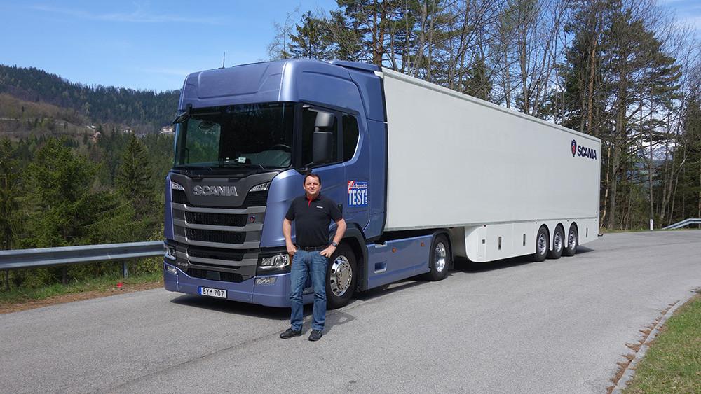 Scania R 450 Test