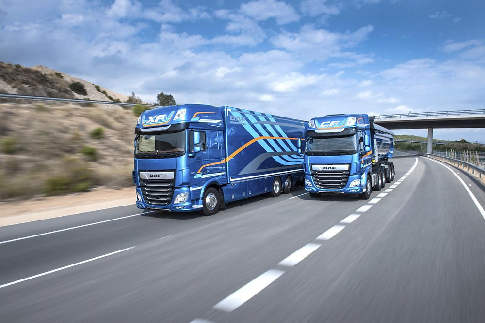 DAF XF DAF CF Truck of the Year