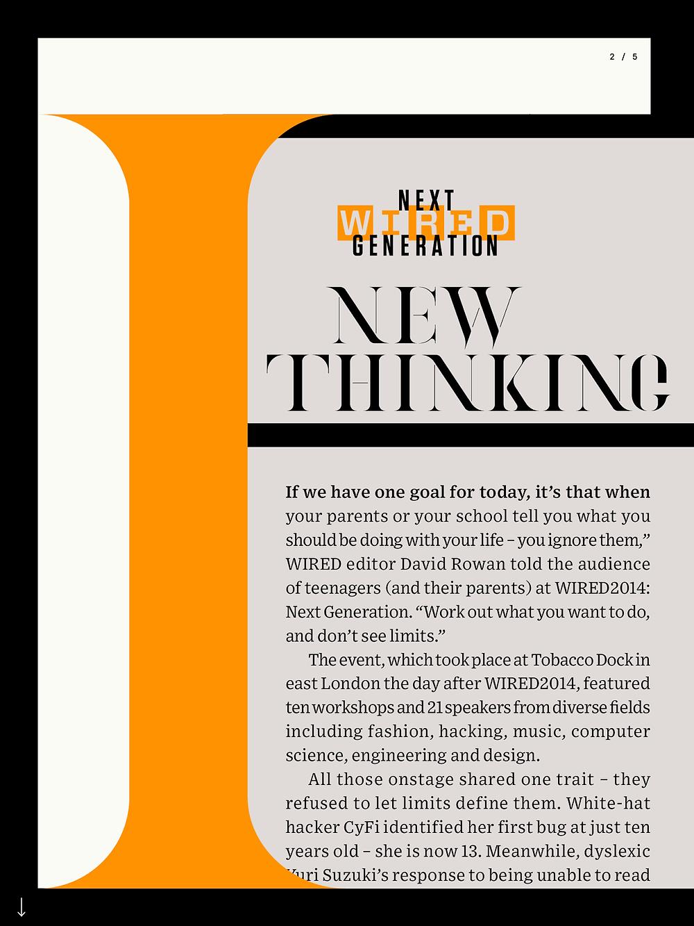 wired uk app magazine