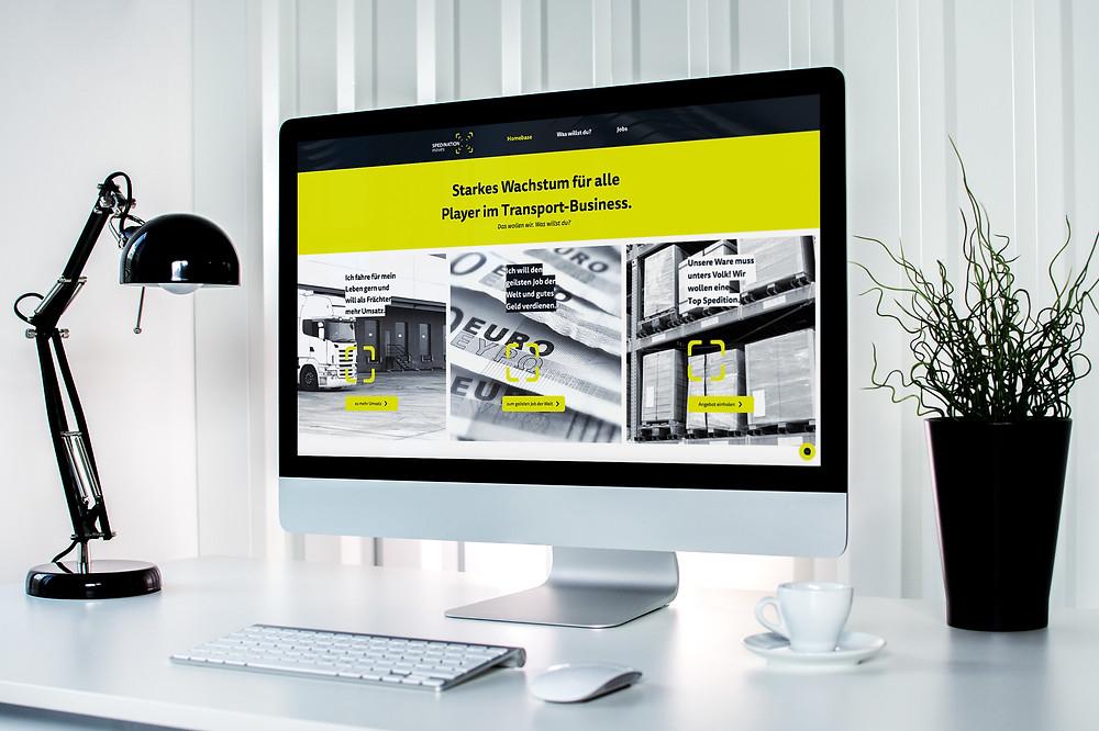 Brand Design Website Spedination