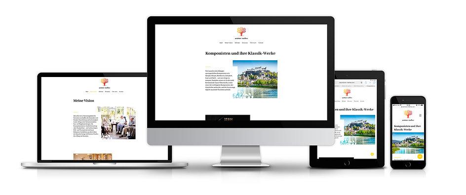 Webdesign Design Homepage Senioren-Matinee