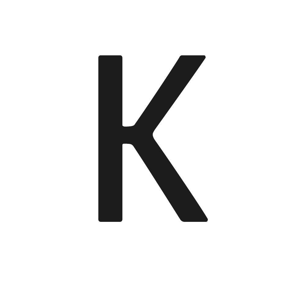 Akko font example K