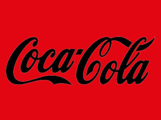 coca-cola pixel logo