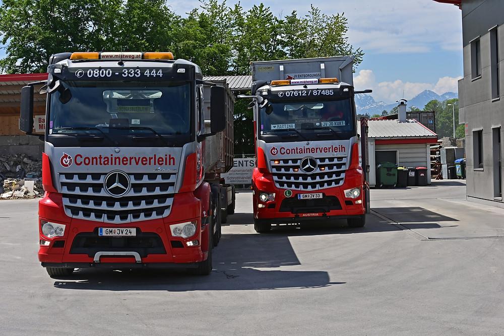 Mercedes-Benz Arocs Containerverleih