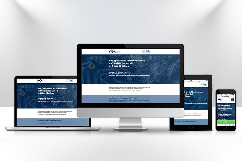 engineer website design