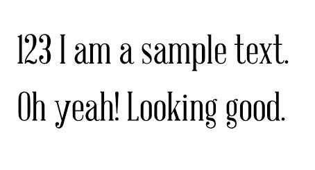 My (current) 24 favourite fonts - part 1