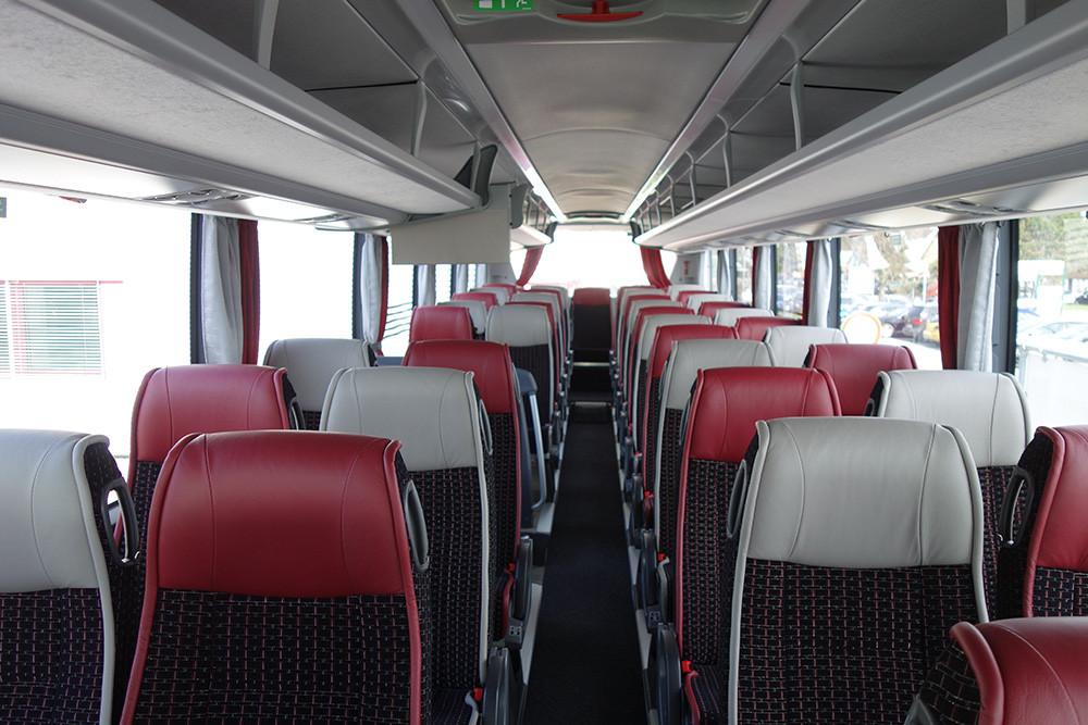 Scania Interlink HD Fahrgastraum