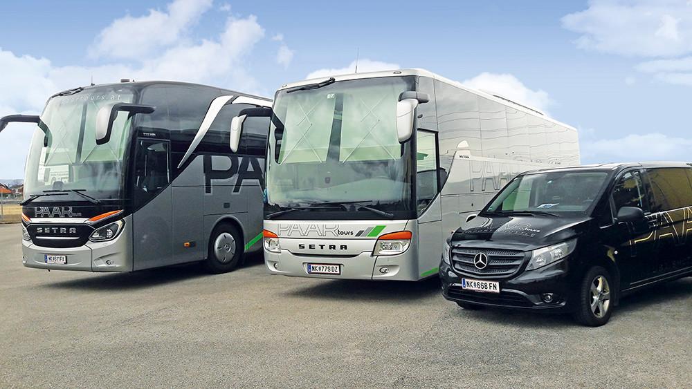 PAAR tours Setra Bus