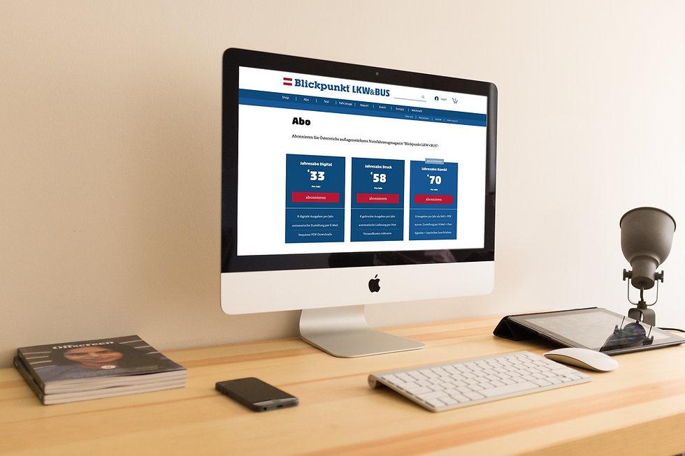 publisher website design