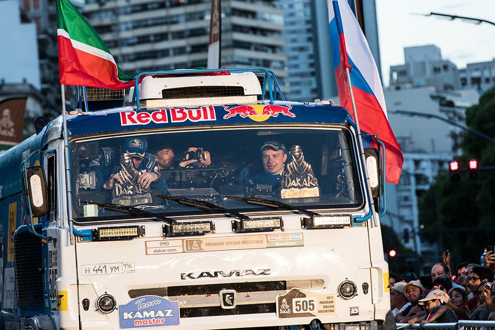 Rallye Dakar 2017 Kamaz