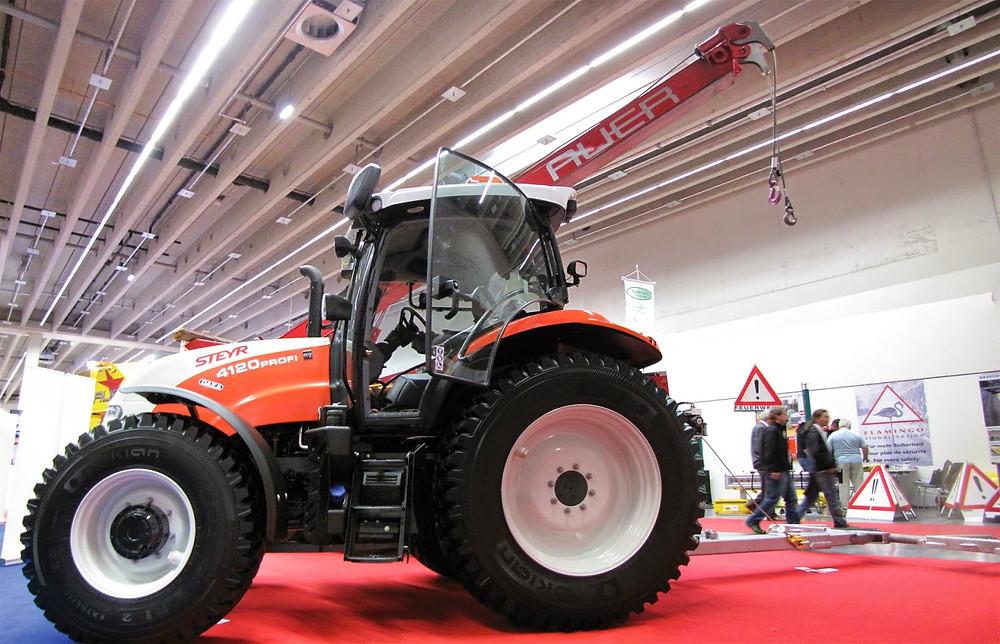 tractor photo merge