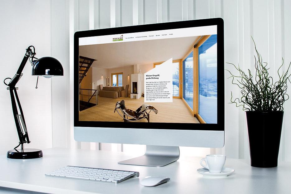 wegscheider website design