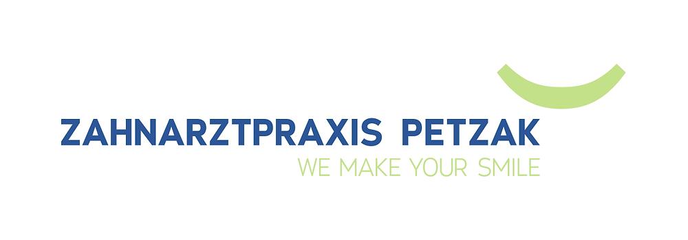 logo zahnarztpraxis petzak
