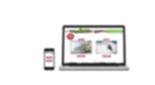 die boerse web design landing page