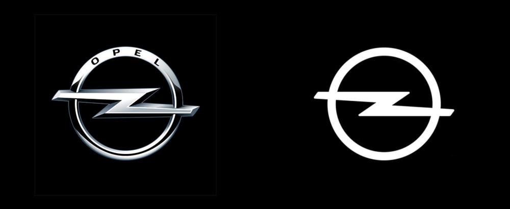 Opel logo design