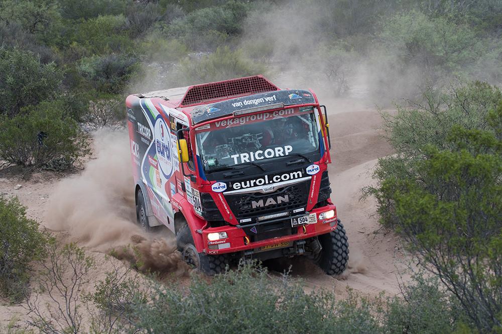 Rallye Dakar 2017 MAN