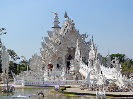This White Temple inspires me