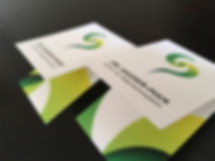business cards clinic