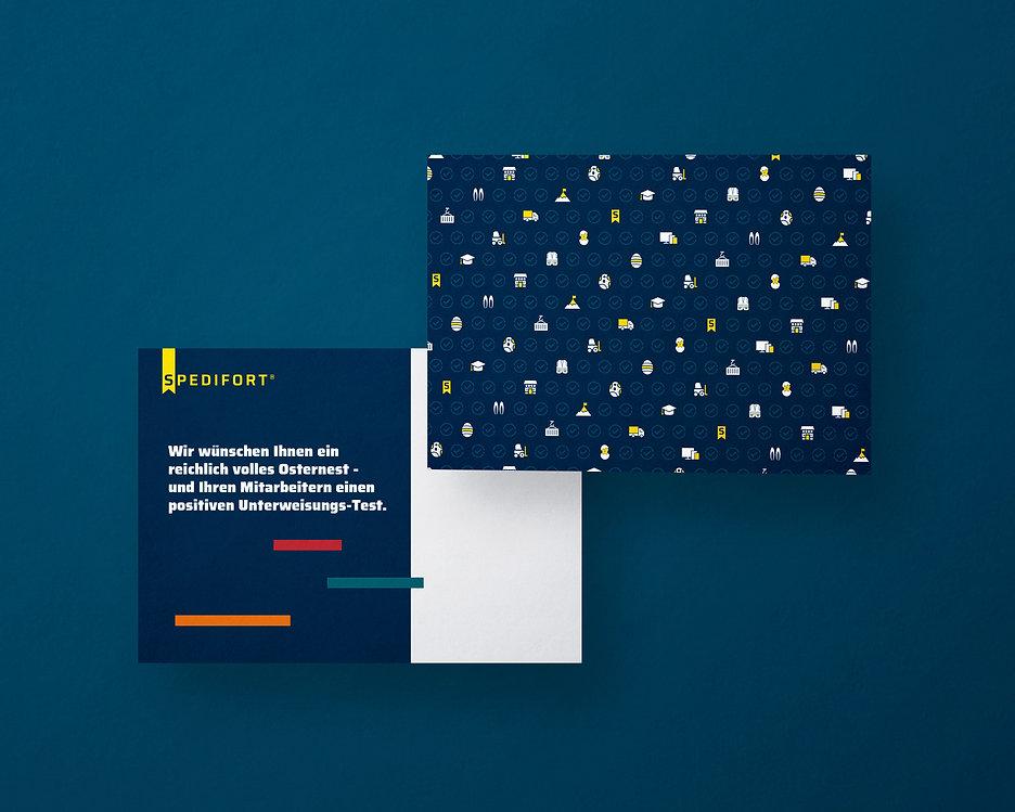 easter postcard design