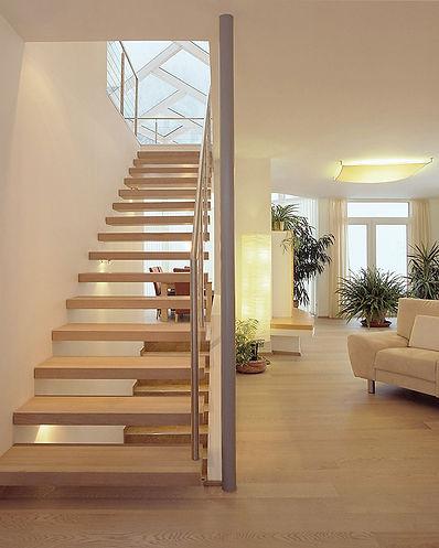 Haus aus Holz und Lehm