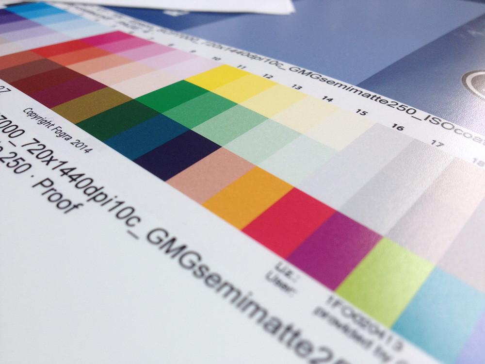 colour proof