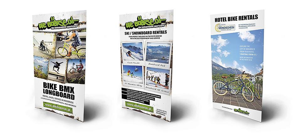 die boerse flyer bike ski longboard