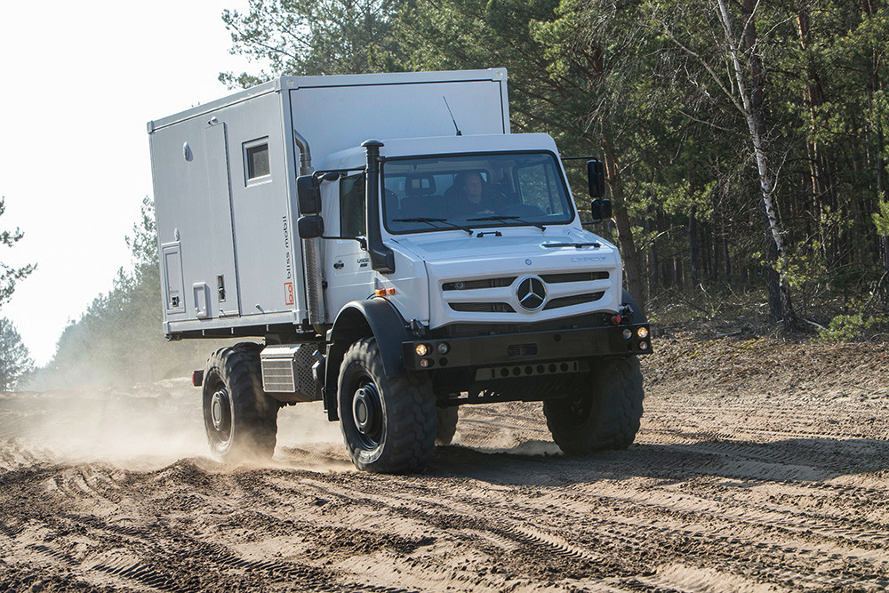 Offroad Unimog Bliss Mobil
