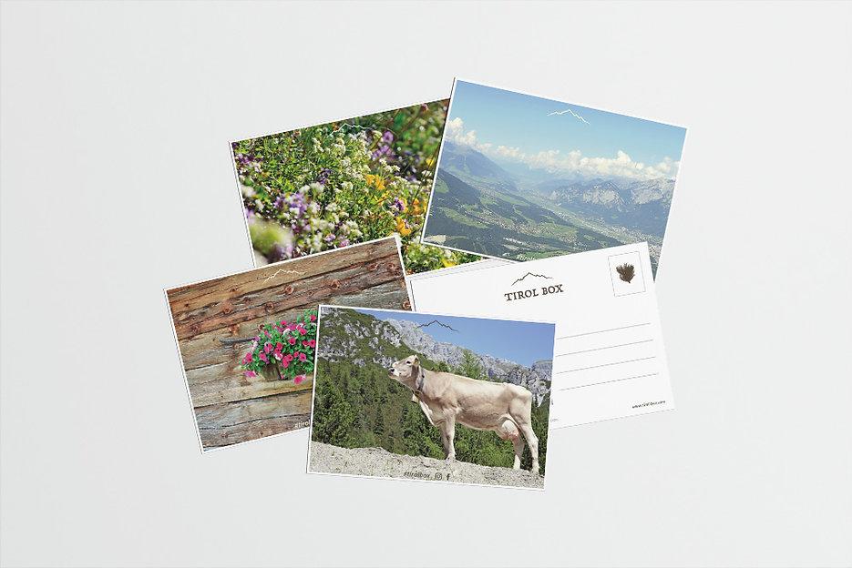 tirol box postkarten souvenir