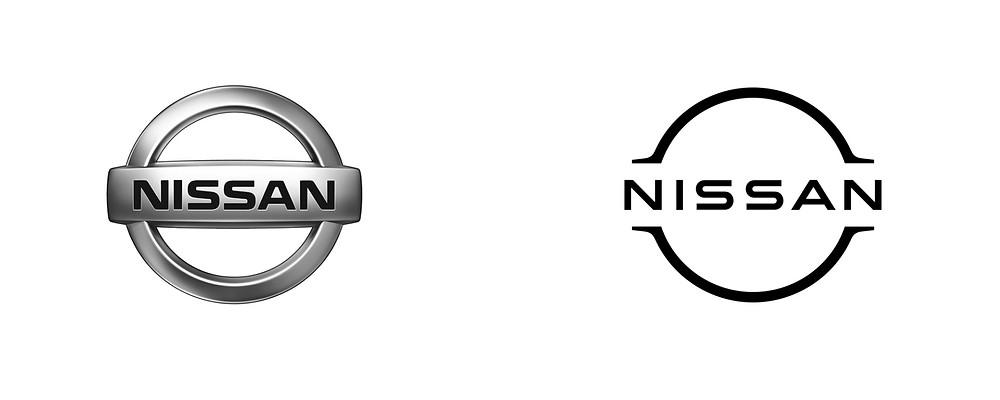 Nissan logo design