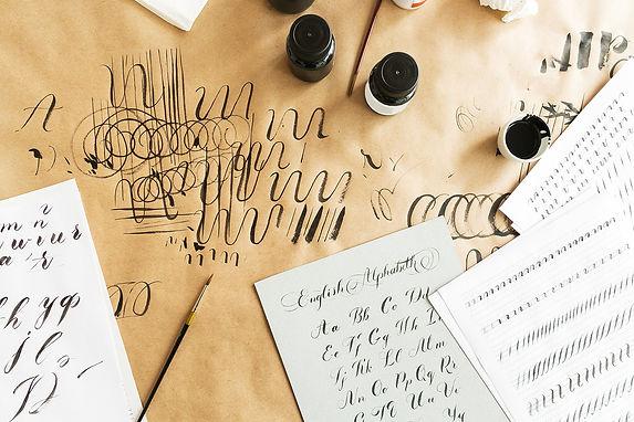 Referat über Kalligraphie