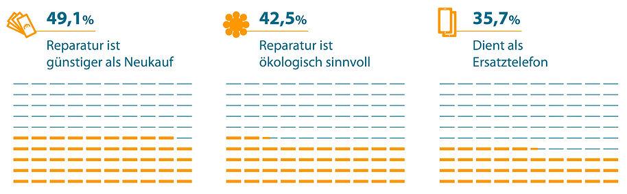Gründe für Handy-Reparatur Infografik