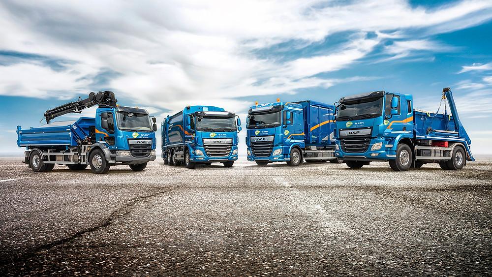 DAF Trucks komplette Serie