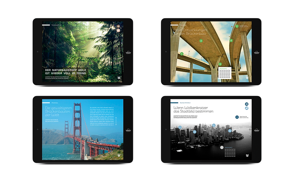 architektur-magazin app ipad tablet