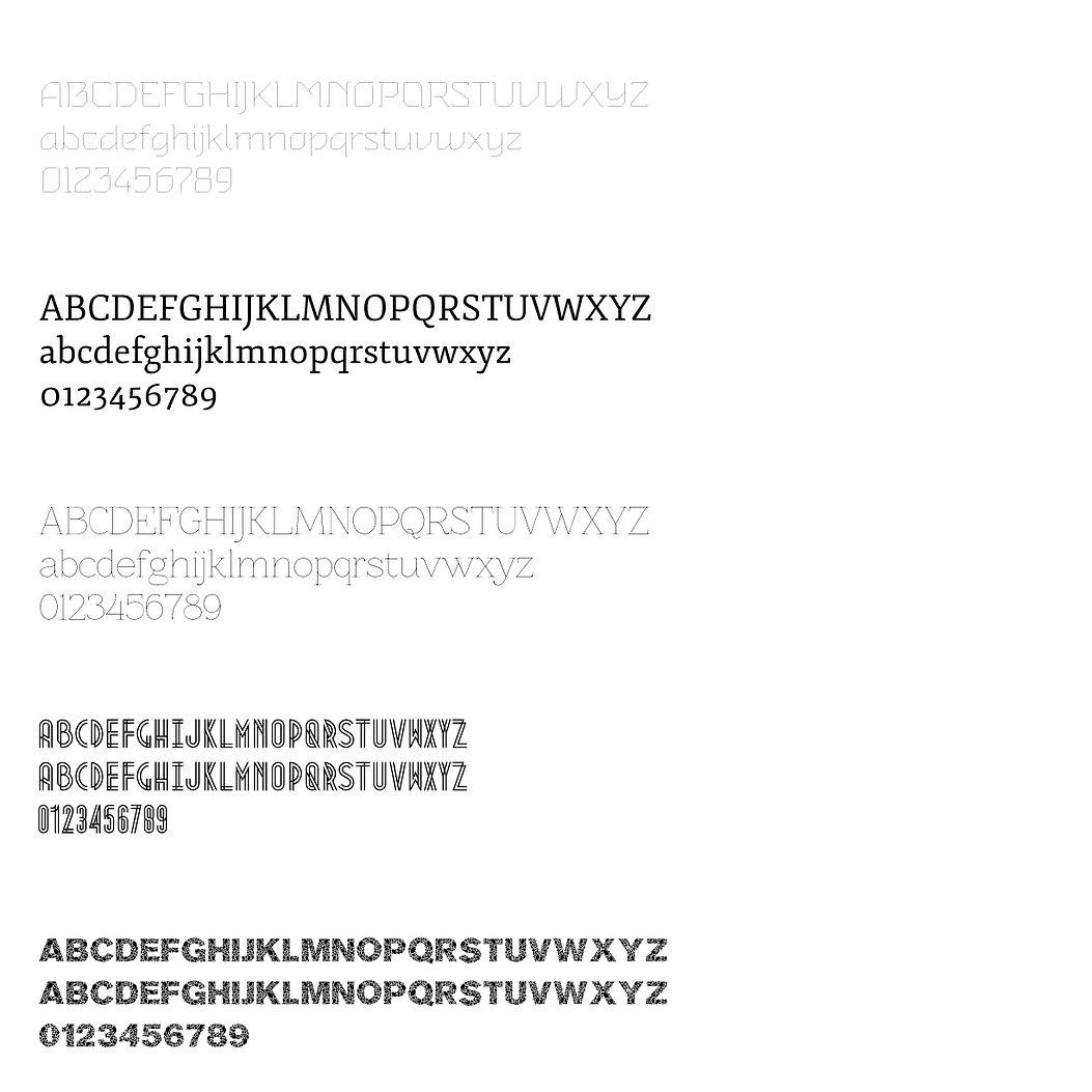 architecture magazine typography