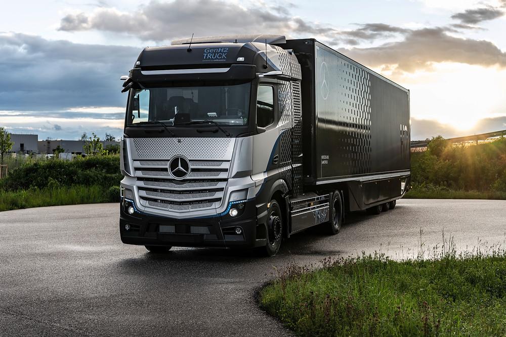 Mercedes-Benz Brennstoffzellen-LKW