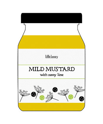 mustard packaging design