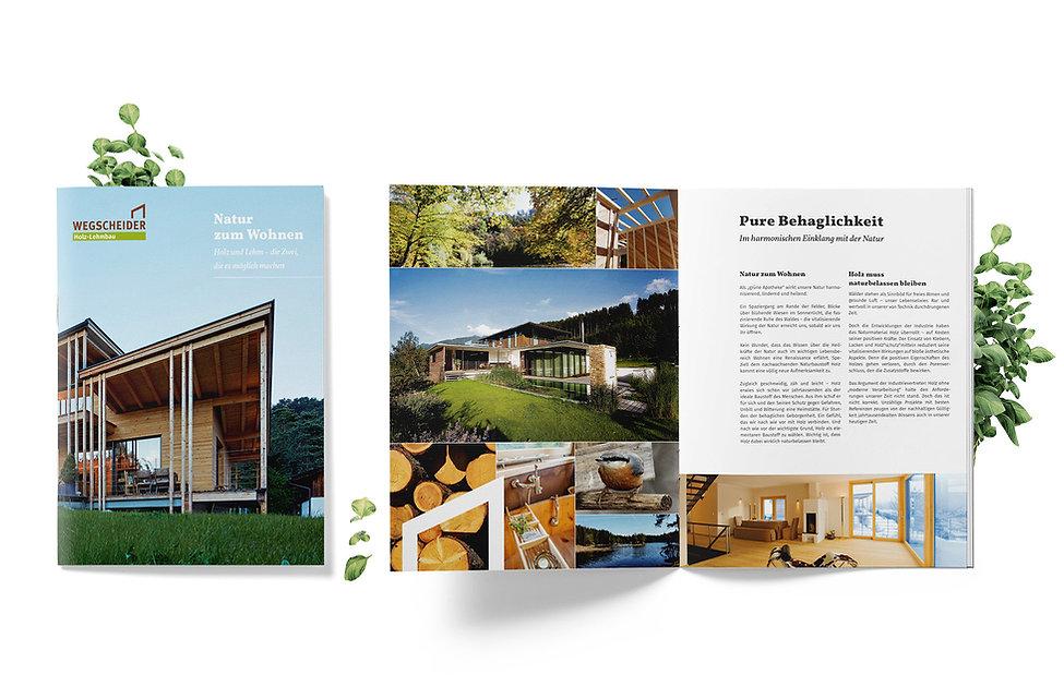 architecture brochure design