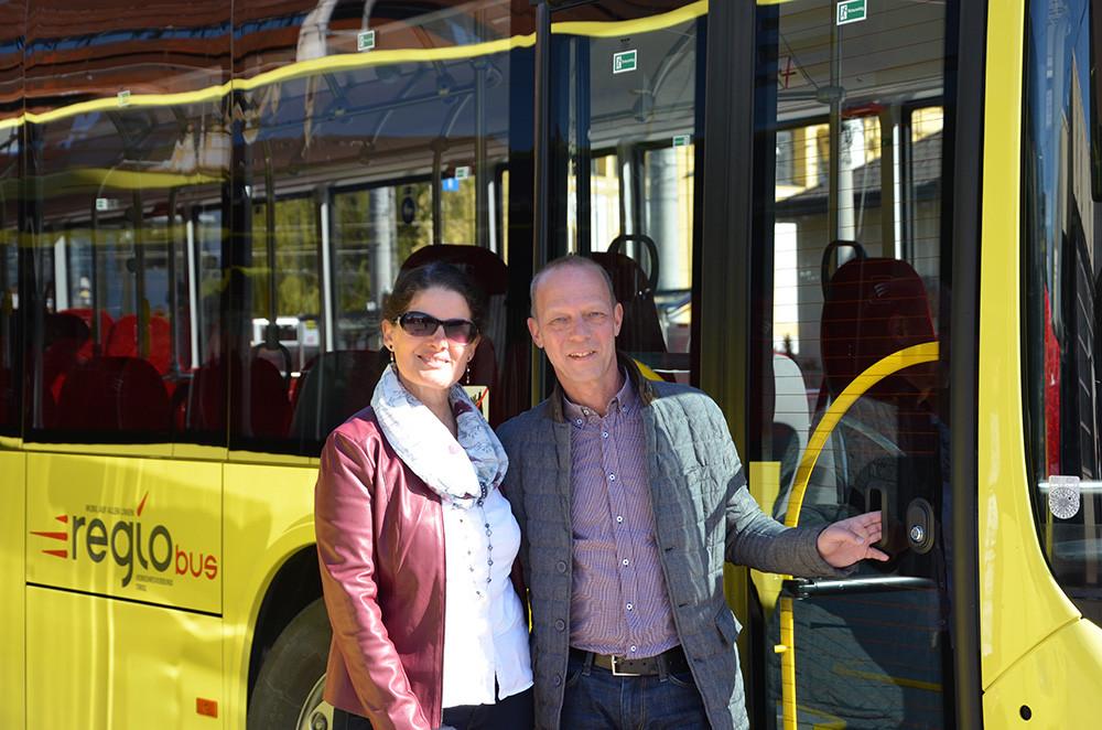 Helene Gamper und Ing. Harald Jösslin